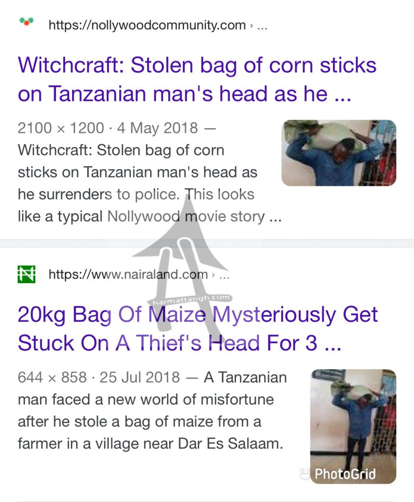 Fact Check: Maize thief not from Binduri, Ghana, check out the true story